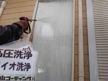 徳島県 大麻町 高圧洗浄 窓