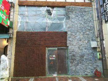 徳島県 徳島市 銀座 壁面塗装 施工後 外壁