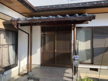 徳島県 国府町 施工後 玄関