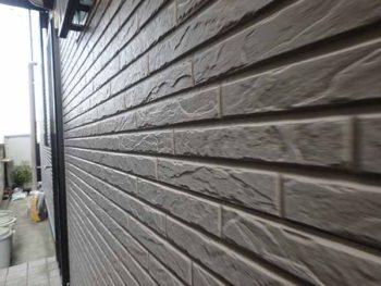 徳島県 徳島市 安宅 施工前 外壁 目地 汚れ