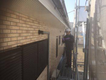 徳島県 川内町 高圧洗浄 外壁 目地