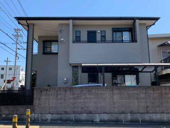 徳島県 徳島市 安宅 施工後 側面 全体