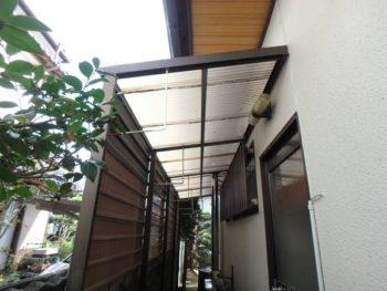 徳島県 板野郡 北島町 施工前 外壁