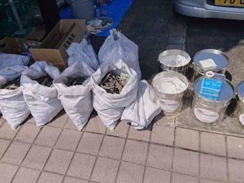 徳島県 徳島市 安宅 コーキング 撤去 土嚢袋