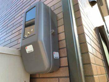 徳島県 板野郡 松茂町 施工後 電気ボックス