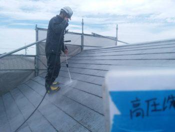 徳島県 板野郡 洗浄 屋根