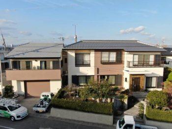 徳島市川内町で汚れが付きにくい外壁屋根に!フッ素塗装・無機塗装