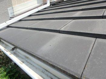 徳島県 藍住町 施工前 屋根 汚れ
