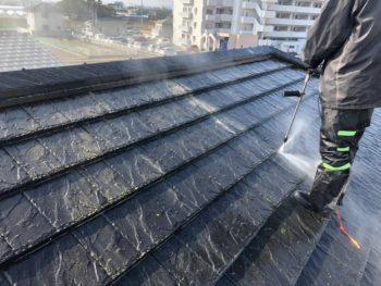 徳島県 川内町 高圧洗浄 屋根