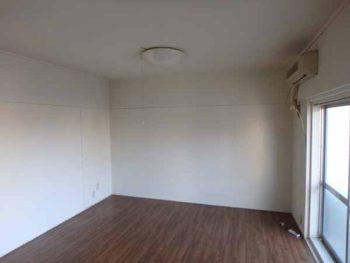 徳島県 昭和マンション 室内塗装 施工前 全体 裏面