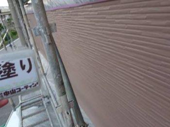 徳島県 川内町 外壁塗装 上塗り