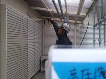 徳島県 板野郡 洗浄 外壁