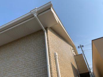 徳島県 城東町 病院 施工後 軒天井