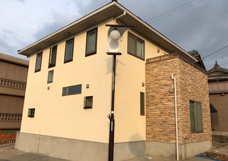洲本市五色町で塩害に耐えれる外壁塗装後の口コミ
