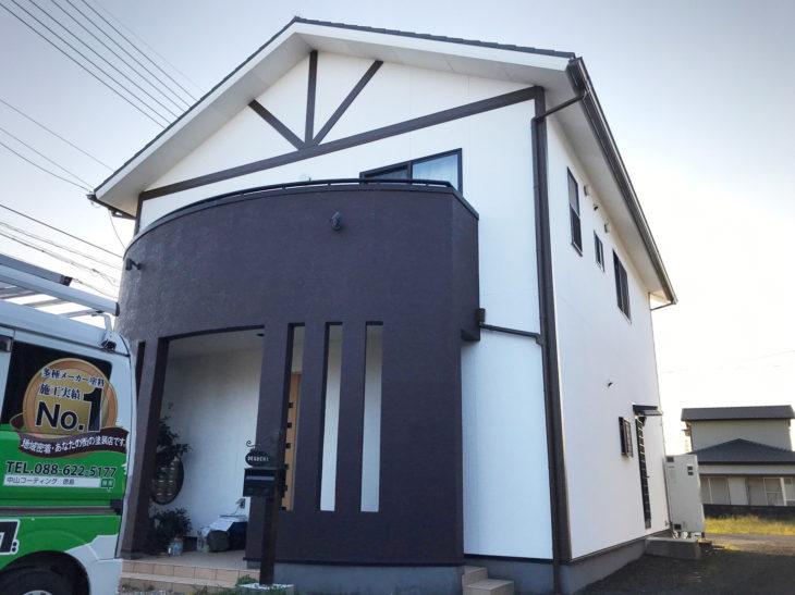 吉野川市鴨島町で外壁塗装 遮熱塗装の口コミや評判