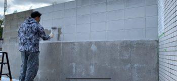 徳島 塀塗装 ブロック塀