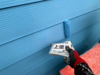 ダイナミックトップマイルド 金属サイディング 塗装 徳島 外壁