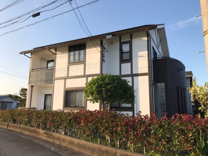 吉野川市 徳島 塗装 GAINA 超低汚染リファイン