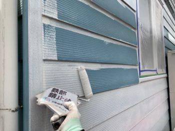 金属サイディング 塗装 徳島 外壁