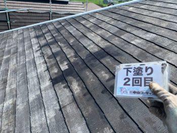 徳島 屋根 四回塗り 塗替え