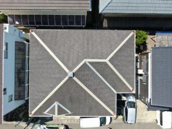 徳島 塗装 ドローン 屋根 塗替え