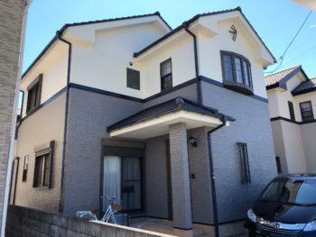 徳島県板野郡北島町 屋根・外壁塗装 施工例