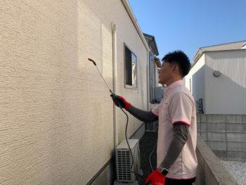 徳島県 新築から5年で苔や汚れバイオ洗浄