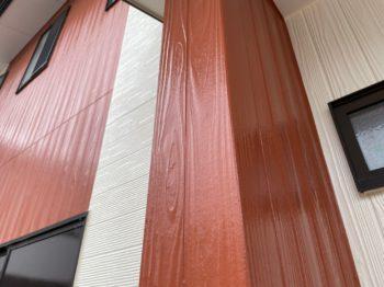 赤色 色とびしやすい 外壁塗装