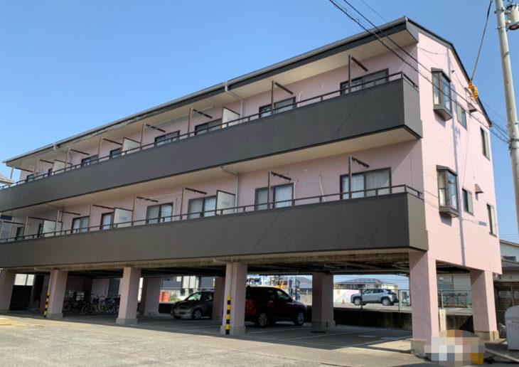 阿南市宝田町 C・H稲田マンション屋根・外壁塗装 オーナー様より