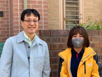 2年前、実家(小松島市)が外壁塗装で中山さんにお世話になり。