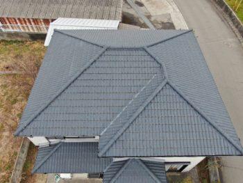 屋根塗装 無機 美馬市