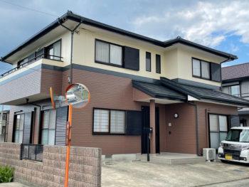 板野郡藍住町で雨漏りや外壁屋根塗装は中山コーティング