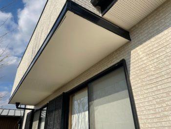 美馬市 塗装 軒天井 屋根