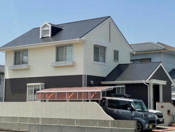 中山さん「信用しませんから!!」 屋根外壁塗装 板野郡藍住町