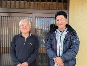 築41年の家ですが、中山さん(スタッフのみなさん)にお願いして、きれいになりました。