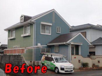 板野郡藍住町 外壁塗装 施工前