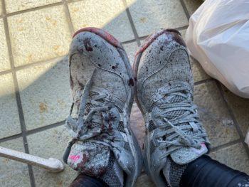 塗装屋 靴