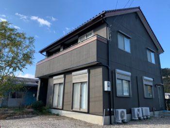 徳島県で住友林業の外壁塗装なら中山コーティング 上八万町 N様邸施工例