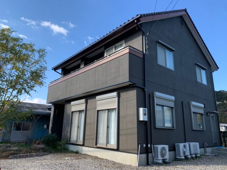 徳島 塗装 外壁 水谷ペイント 塗り替え
